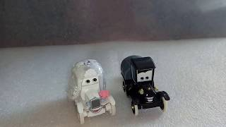 Обзор Тачки Лиззи и Стенли в день свадьбы Mattel