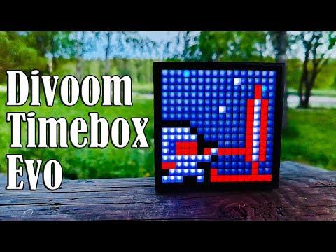 Только не показывайте детям! 10 фактов о беспроводной колонке Divoom Timebox Evo!