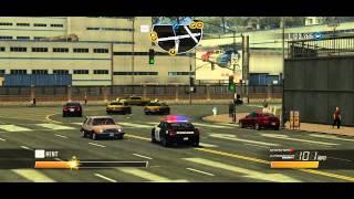 Driver  San Francisco Police car fail!