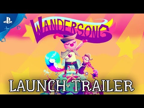 Wandersong - Launch Trailer | PS4