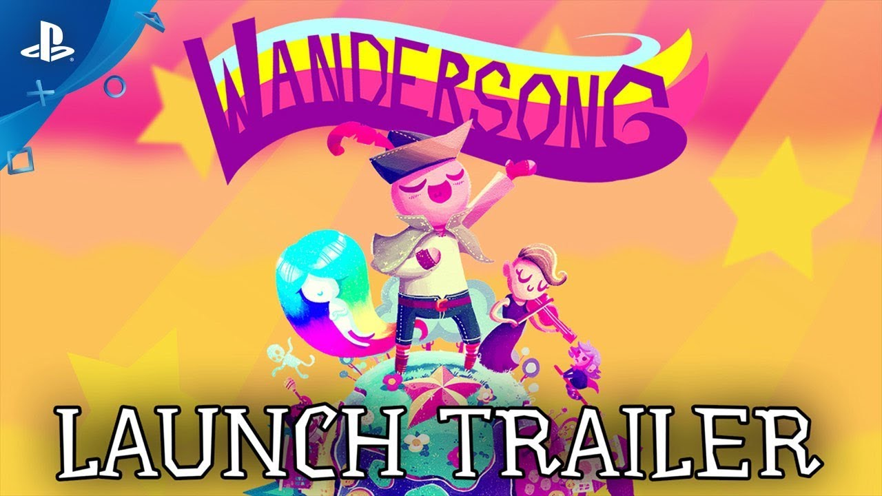 Wandersong - Launch Trailer | PS4