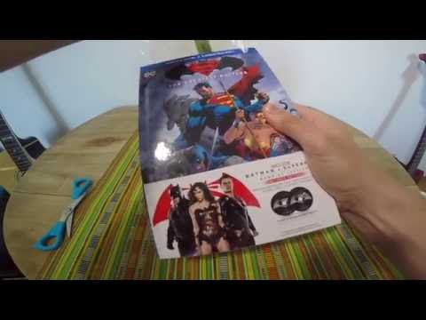 UNBOXING Batman V Superman: Dawn of Justice con Graphic Novel (2 Blu-Ray)