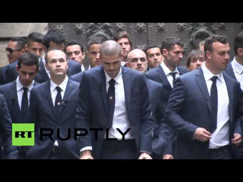 Spain: Legendary football stars mourn death of Tito Vilanova