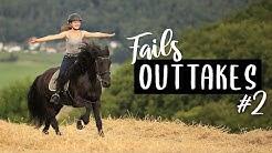 OUTTAKES #2 | Pferde Fails & jede Menge Spaß 😂 Pilsali
