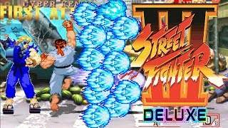 STREET FIGHTER III DELUXE 【MUGEN】  - PC LONGPLAY - KoRyu And Cyber-Ken TEAM PLAYTHROUGH (NO DEATH)