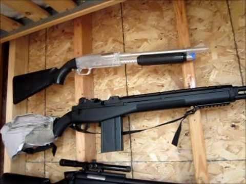 Simple Airsoft Gun Rack Youtube