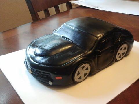 Mercedes Car Birthday Cake
