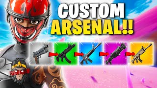*CHALLENGE* CUSTOM ARSENAL VE FORTNITE!!