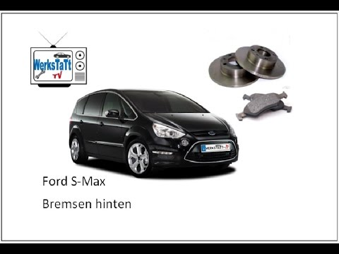 ford s max galaxy bremsen hinten wechseln change brake disk and pads rear axle youtube. Black Bedroom Furniture Sets. Home Design Ideas