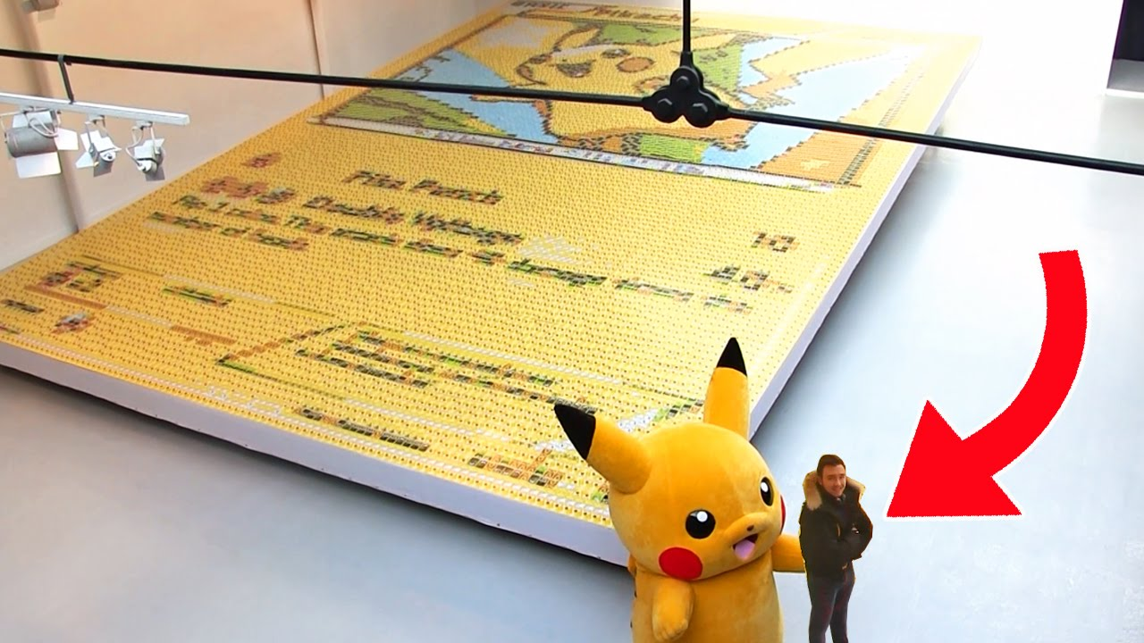 La plus grande carte pokemon du monde 12 987 cartes - La plus forte carte pokemon du monde ...