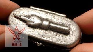 Обзор старинной карманной пепельницы