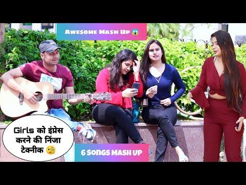 Randomly Singing Sad Romantic Songs Mash Up Reaction Prank Video | Siddharth Shankar