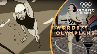 How an Olympic champion swimmer almost drowned at London 1948 | Words of Olympians