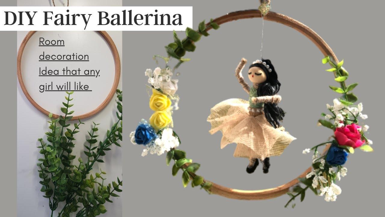DIY Fairy Ballerina |  Room decoration Idea that any girl will like | Unique Home Decor