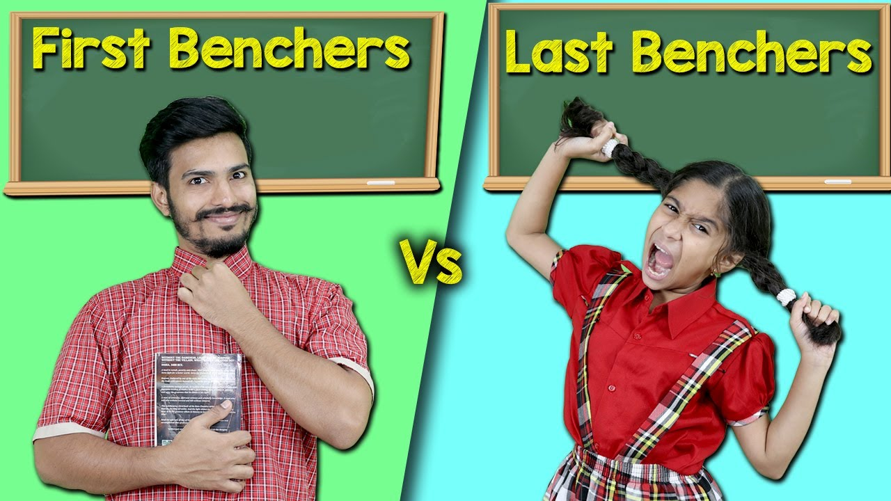 First Benchers Vs Last Benchers | Funny Video | Pari's Lifestyle