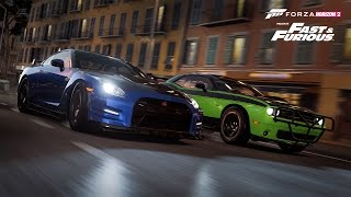 Fast and Furious 7 Hype - Xbox Gameplay ( Forza Horizon 2 ) Part 1