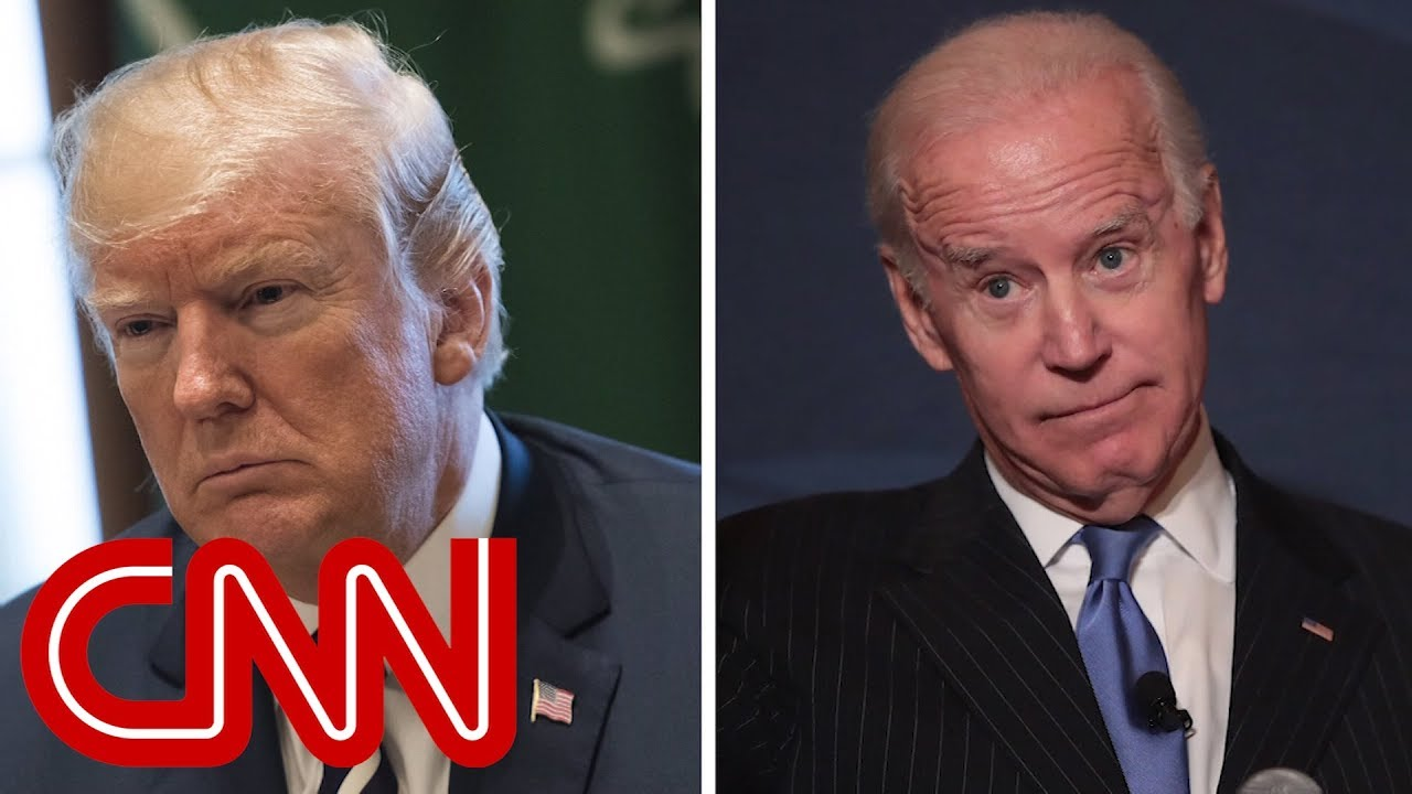 Trump Threatens Joe Biden, Saying He 'Would Go Down Fast and Hard' if They Fought