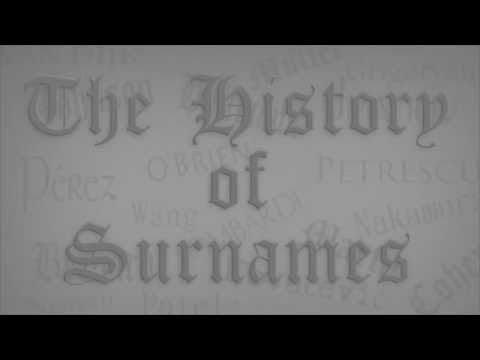 History of Surnames