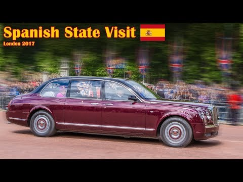 King & Queen of Spain - State Visit to London | Escorts | Main Procession | 12/07/2017