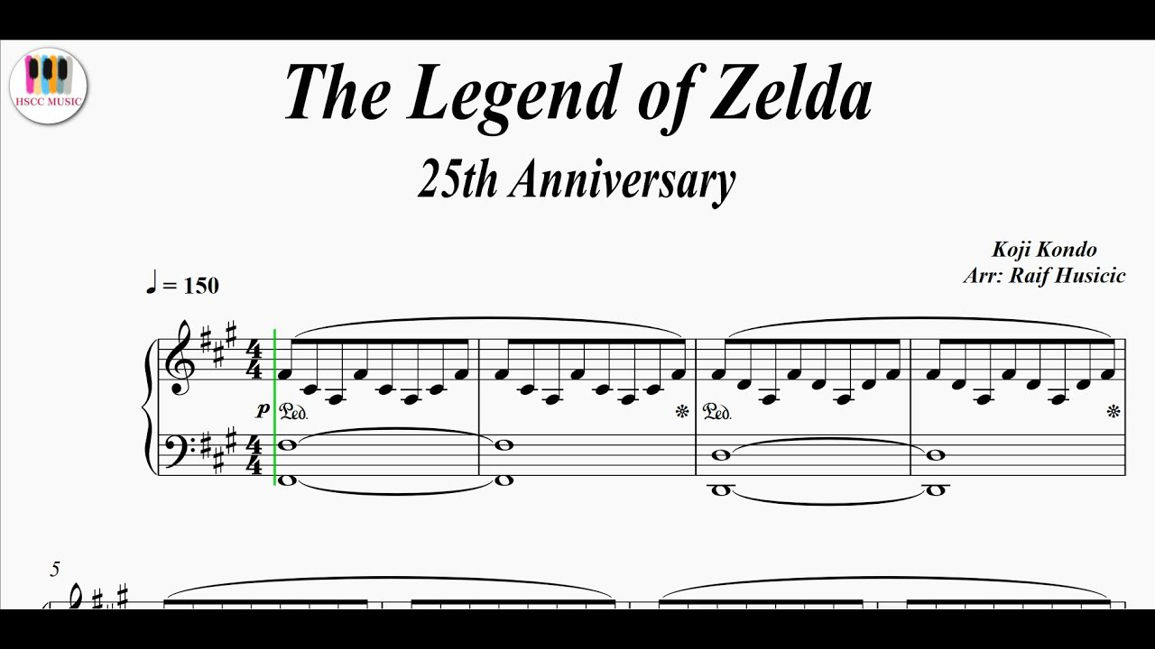 The Legend of Zelda, 25th Anniversary, Piano