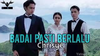 Badai Pasti Berlalu (Official Lyrics Video) | Ost Badai Pasti Berlalu Sctv