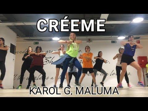 CRÉEME - KAROL G, MALUMA - ZUMBA