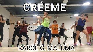 CRÉEME - KAROL G, MALUMA - ZUMBA Video