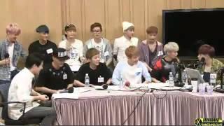 130808 붐의 영스트리트 Boom`s Young Street 엑소 EXO 빠진 영상