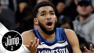 Is Karl-Anthony Towns affected by the Jimmy Butler drama? | The Jump