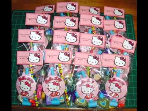 DIY Hello kitty birthday party decorating ideas YouTube