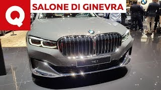 BMW Serie 7 restyling 2019: il doppio rene è più grande che mai! - Salone di Ginevra 2019