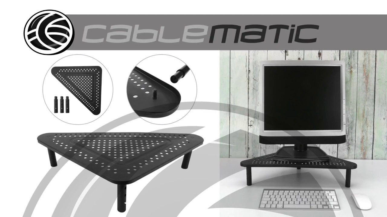 Elevador de monitor para escritorio para pantalla de for Elevador monitor ikea