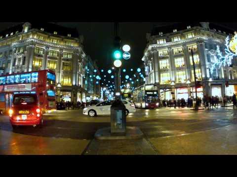 Oxford Circus, London (Episode 1 Night Timelapse)