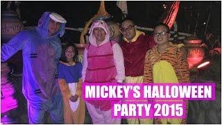 MICKEY'S HALLOWEEN PARTY! - October 19, 2015