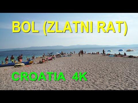 Zlatni Rat Beach -  Bol, Brač, Croatia | 4K Ultra HD