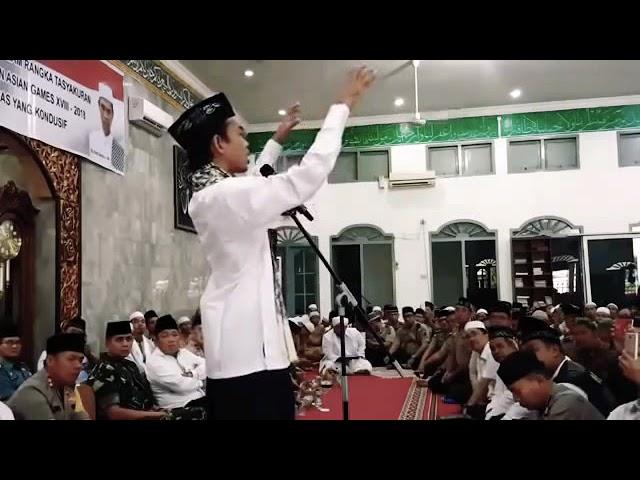 Ceramah Ustadz Abdul Somad Yang Membuat Kapolda Sulsel Tertawa