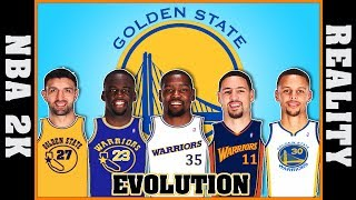 GOLDEN STATE WARRIORS evolution [NBA 2K vs REALITY]