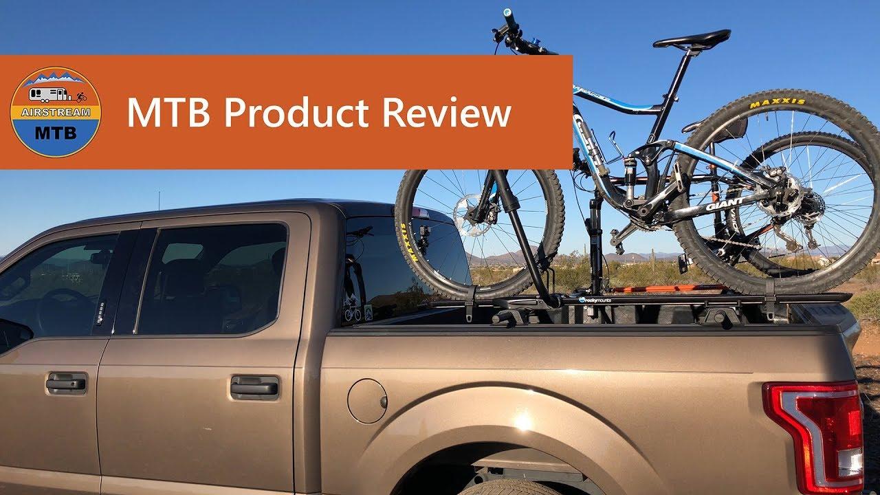 e2 4 the slickest bike rack for your truck yakima bedrock and rockymounts brassknuckles