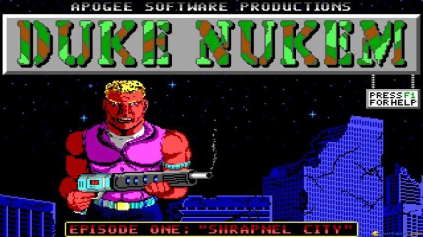 Duke Nukem Old Pc Game