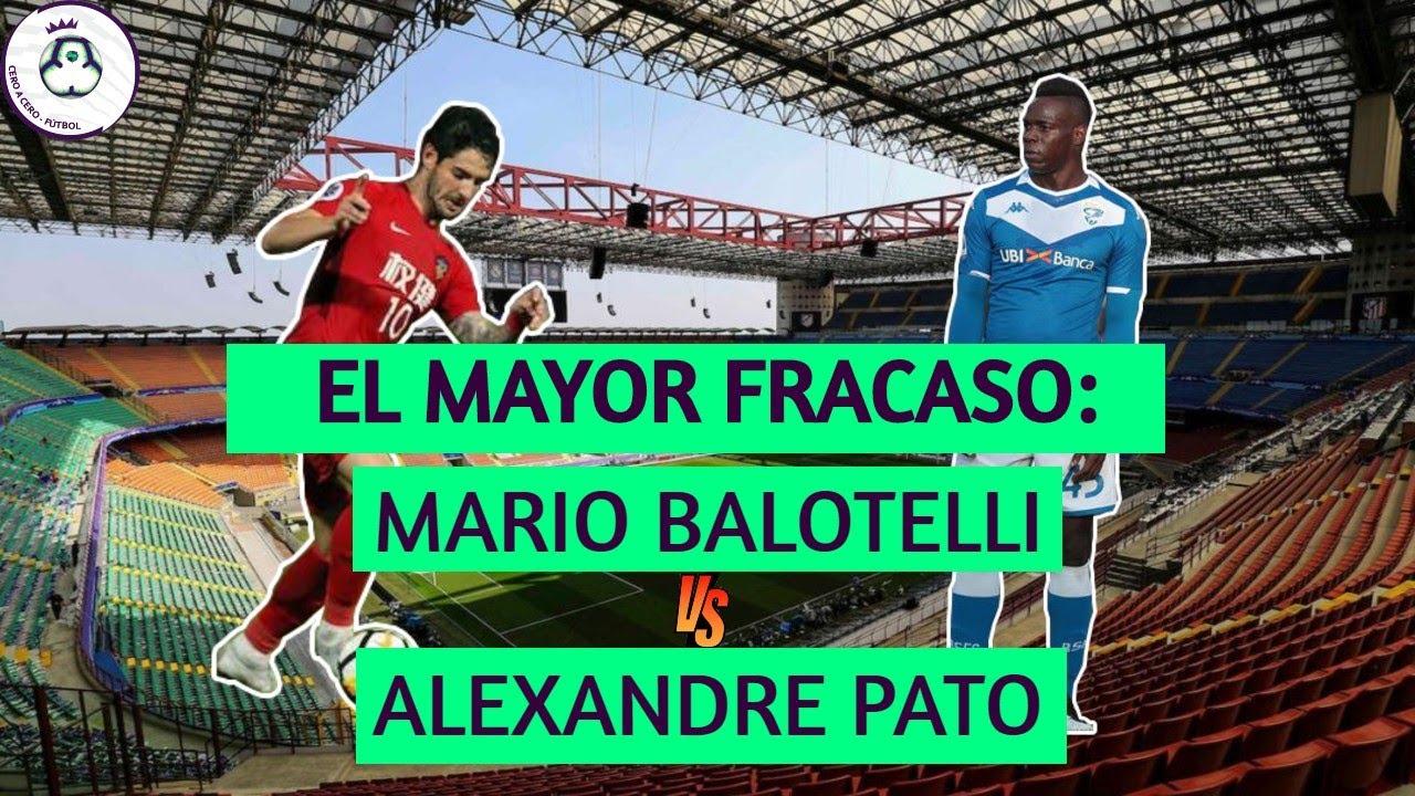 El mayor fracaso: Balotelli vs Pato | Cero a Cero - Fútbol