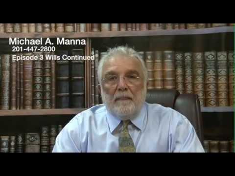 Wills Ridgewood NJ Elder Law Lawyer Bergen County Estate Planning Attorney New Jersey Episode 3