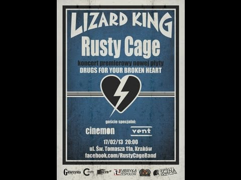Rusty Cage - Concert promoting new album - Commercial