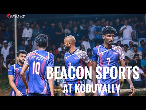 Beacon Sports at Koduvally open Kerala Volleyball Tournament.