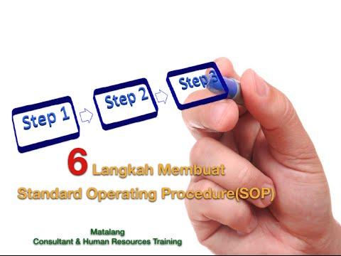 6 Langkah Efektif membuat SOP - Standard Operating Procedures