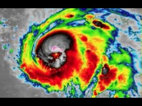 Muss - Creepy Skull In The Eye Of Hurricane Michael! Satellite Pics!