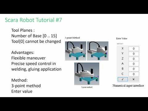 HIWIN Scara Robot Tutorial 7 - Planes and Software Limits