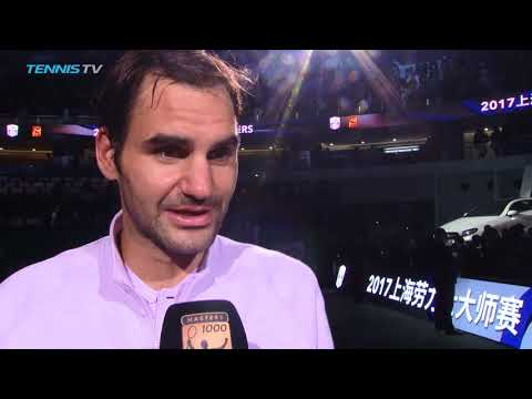 'Shocked' Roger Federer talks after brilliant win vs Nadal | Shanghai 2017 Final