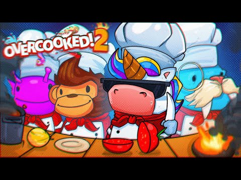GORDON RAMSAY AIN'T GOT NOTHING ON US - Overcooked 2 Co-op!