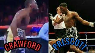 Terence Crawford vs Breidis Prescott Fight Highlights The Common opponent of Amir Khan & Crawford