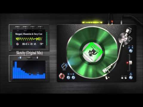 MorganJ. ,Blusterbat & Davy Costa ~ Sketchy (Original Mix)